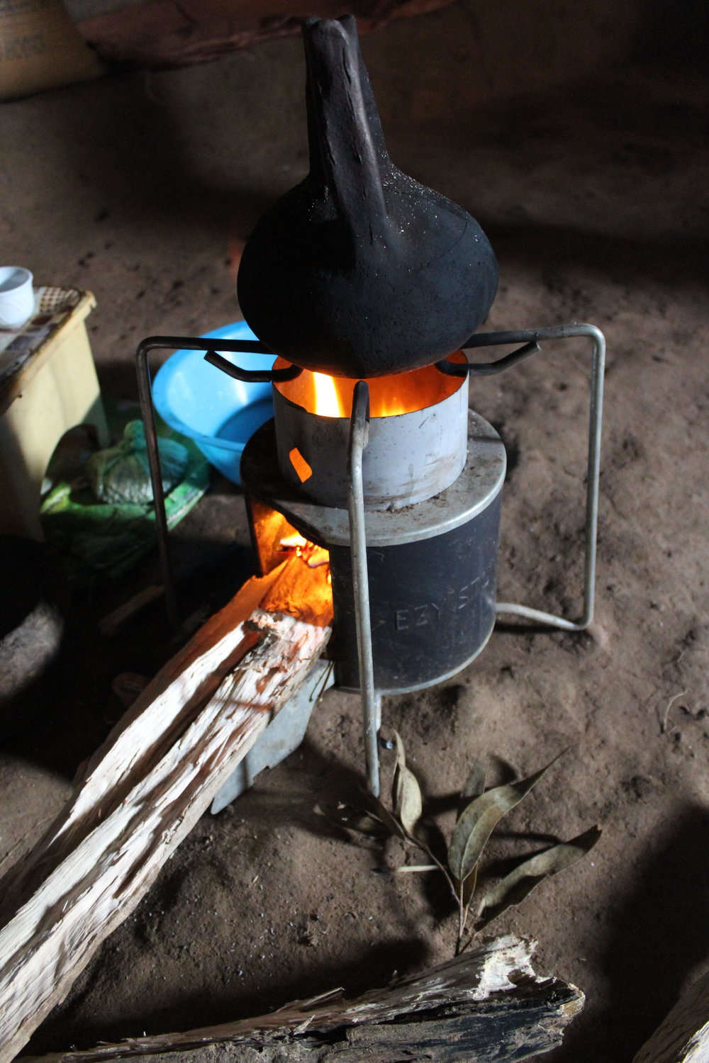The EzyStove, locally manufactured in Mekelle, Ethiopia.