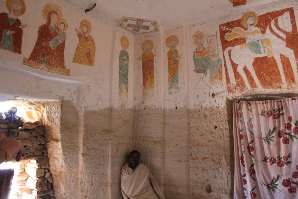 Daniel korkor Ethiopian rock church