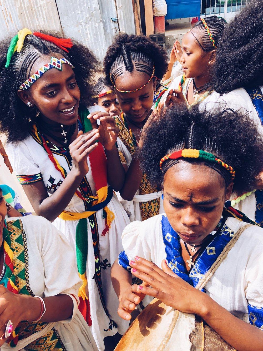 Ethiopian-cultural-dancing