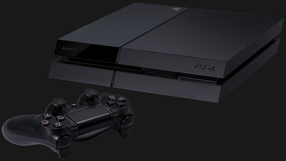 The Playstation 4 impresses with its sleek design.