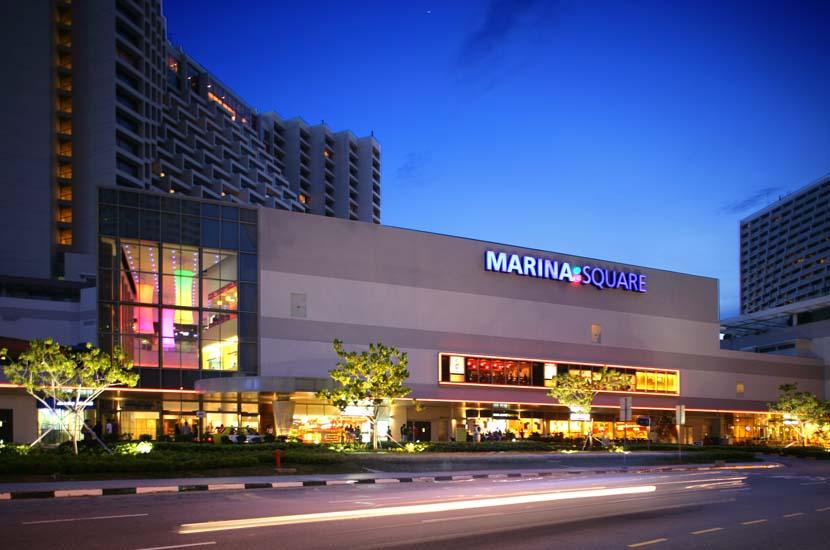 Marina Square shares a carpark with Pan Pacific, Mandarin Oriental and Marina Mandarin