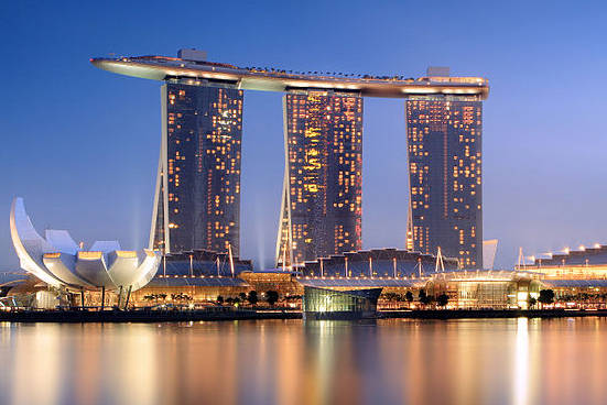 Marina Bay Sands offers pricey parking, but if you are desperate, you can be sure that they have lots available.