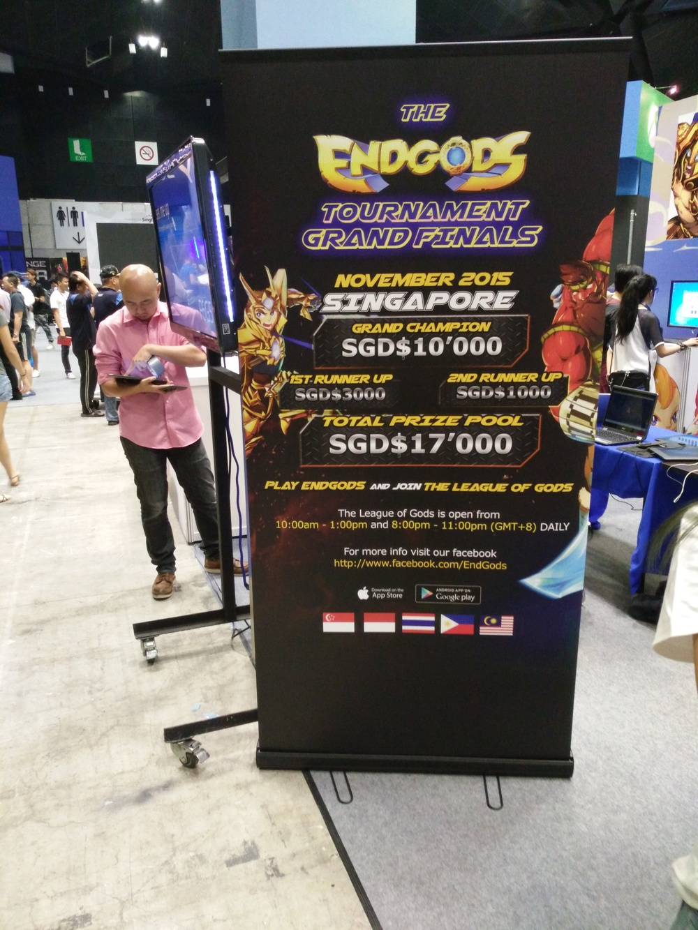 Win up to $1000 in cash at the ENDGODS tournament at GAMEX and take part in their Grand Tournament in November to stand a shot at winning $10,000!