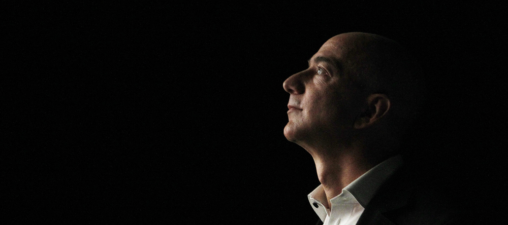 Jeff Bezos, patron d'Amazon © Keystone