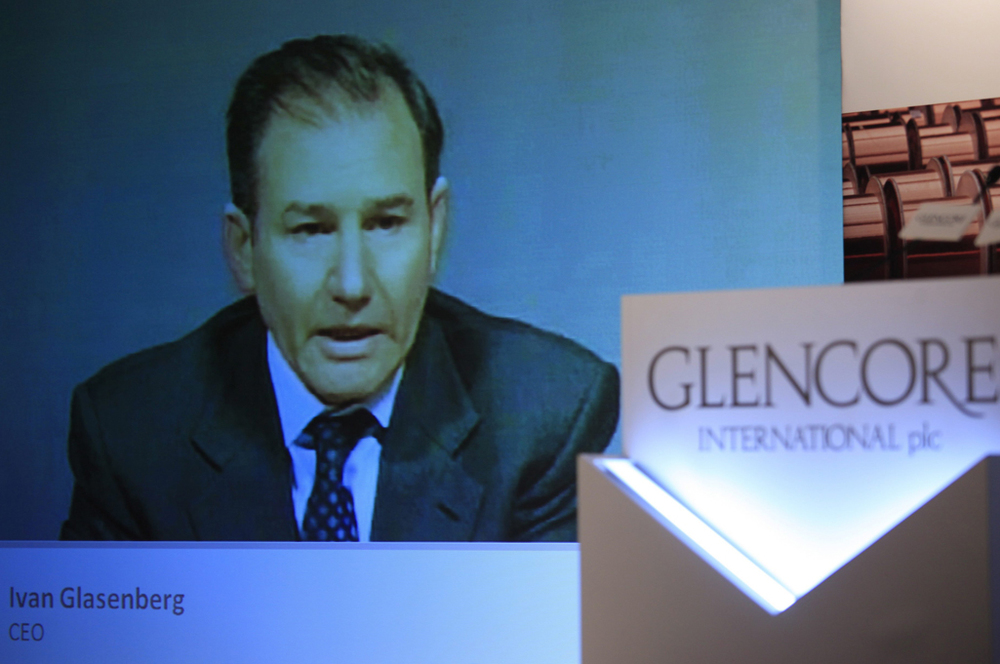 Ivan Glasenberg, CEO de Glencore © Keystone / EPA / Ym Yik / 12 mai 2011