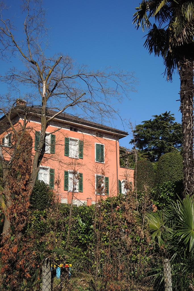 Le siège tessinois de la société Medea Development, à Massagno, près de Lugano.© Federico Franchini / Mars 2014