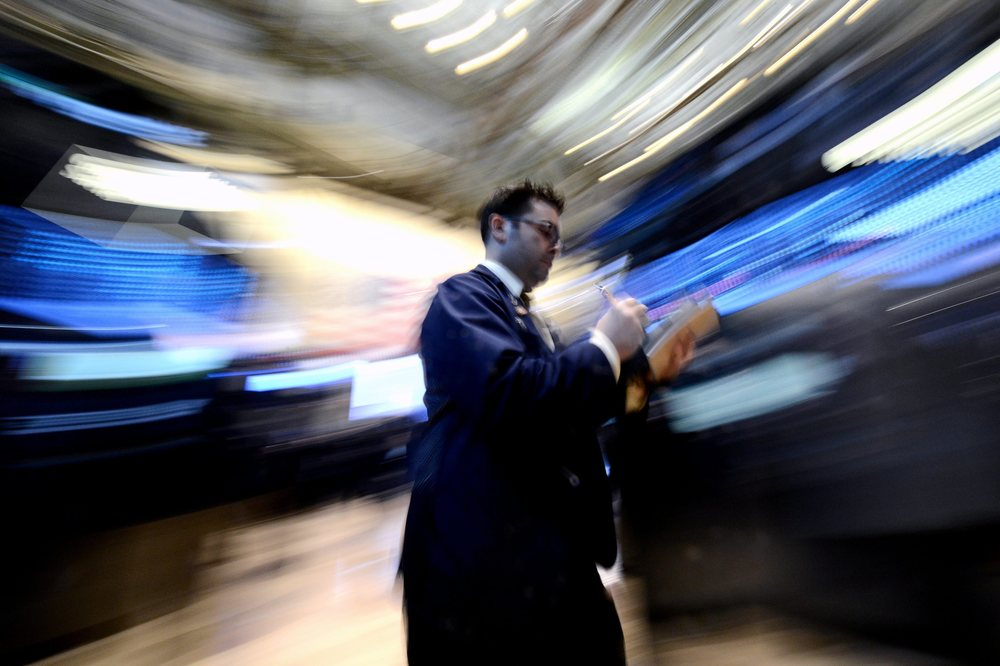 Bourse de Wall Street, New York. © Andrew Gombert / Keystone / EPA / Avril 2013