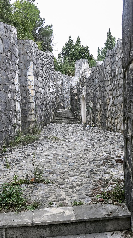 Cimetière des partisans, monument de Bogdan Bogdanović. © Yan Schubert / Mostar, 2014.