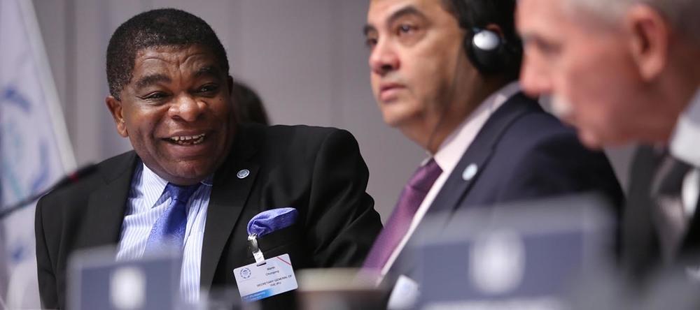 Martin Chungong, secrétaire général de l'UIP © ONU Photo