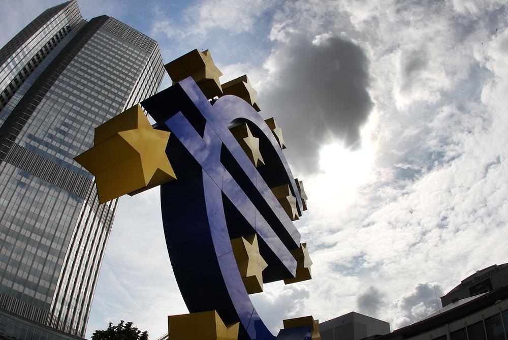 La Banque centrale européenne (BCE) à Francfort @ Keystone / AP Photo / Michael Probst / Archives