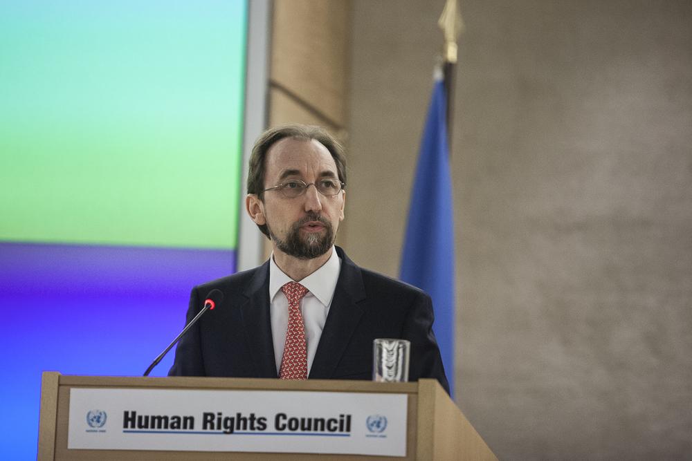 Le Haut-Commissaire de l'ONU aux droits de l'Homme, Zeid Ra'ad Al Hussein. © Alberto Campi