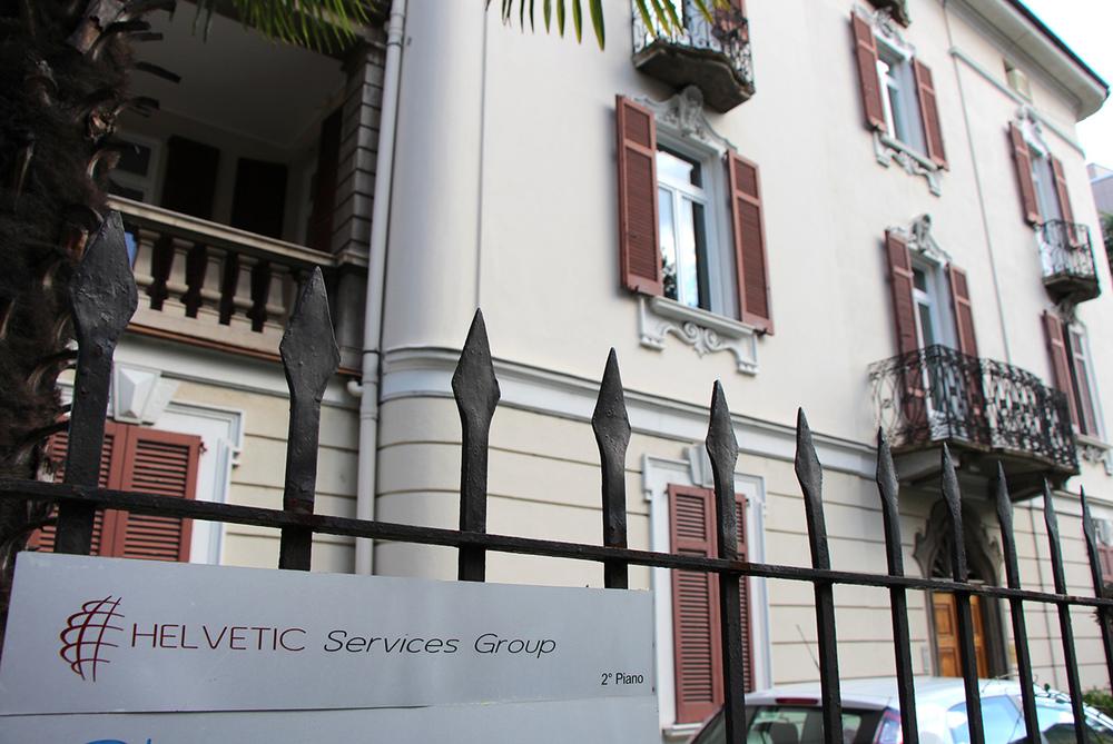 Siège de Helvetic Services Group à Lugano © Davide Rotodo / tio 20 minuti / 29 août 2013