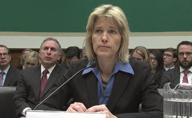 Amy Hess, directrice ajointe au FBI, lors de son audition devant le Congrès ( capture d'écran )