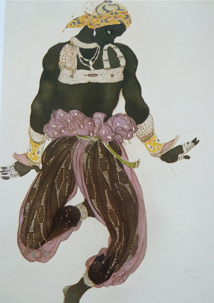 Scénographie pour le ballet  Shéhérazade  (1910)