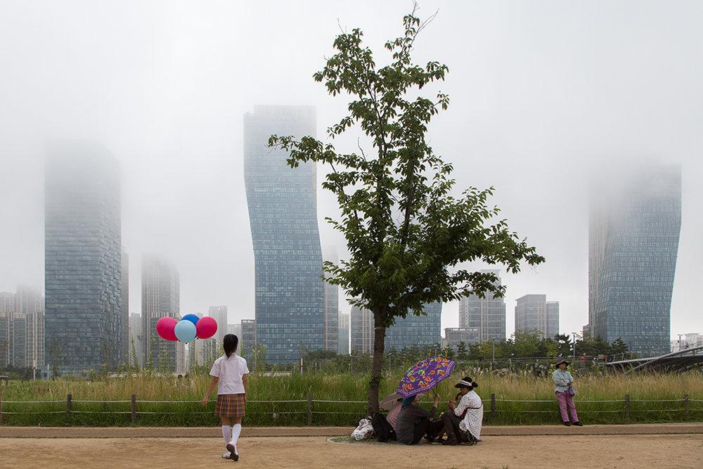 Scènes de vie à Central Park, copie de celui de New York. © Stéphanie Buret / juillet-août 2016