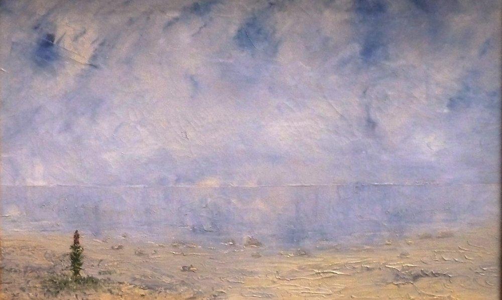 Salicaire, 1892, huile sur toile, collection privée