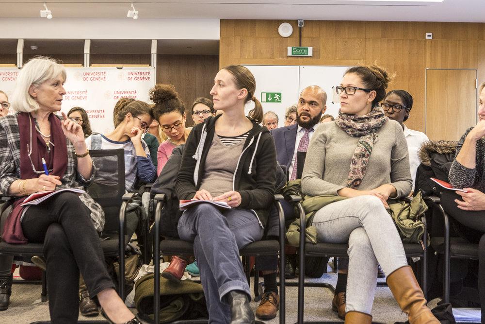Présentation de l'étude «Carrière académique à l'Université de Genève: le facteur humain». © Alberto Campi / Novembre 2016