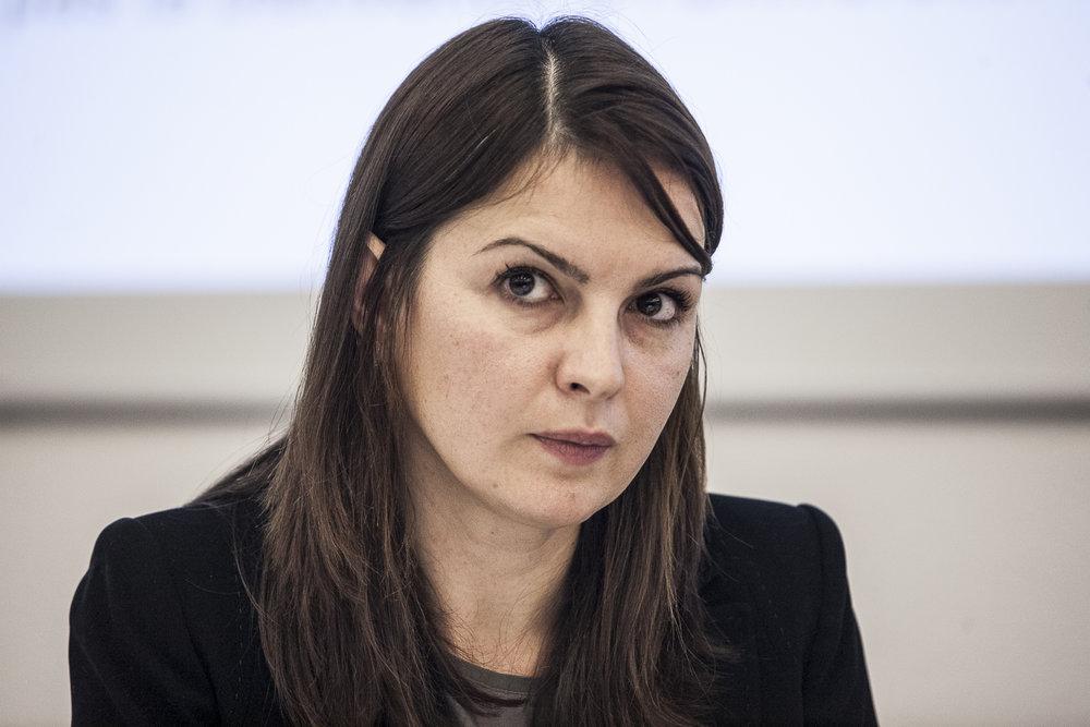 Klea Faniko, auteure de l'étude sur le sexisme à l'Université de Genève © Alberto Campi / Novembre 2016