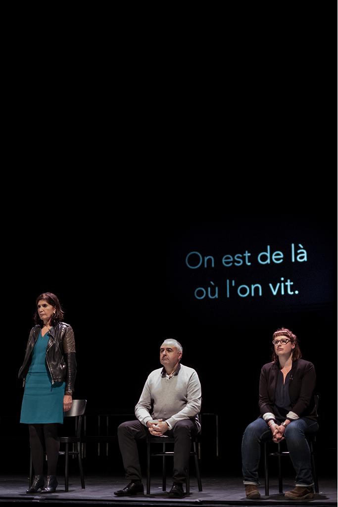 Hospitalités, de Massimo Furlan © Laure Ceillier & Pierre Nydegger / Numero23Prod / Théâtre de Vidy 2017