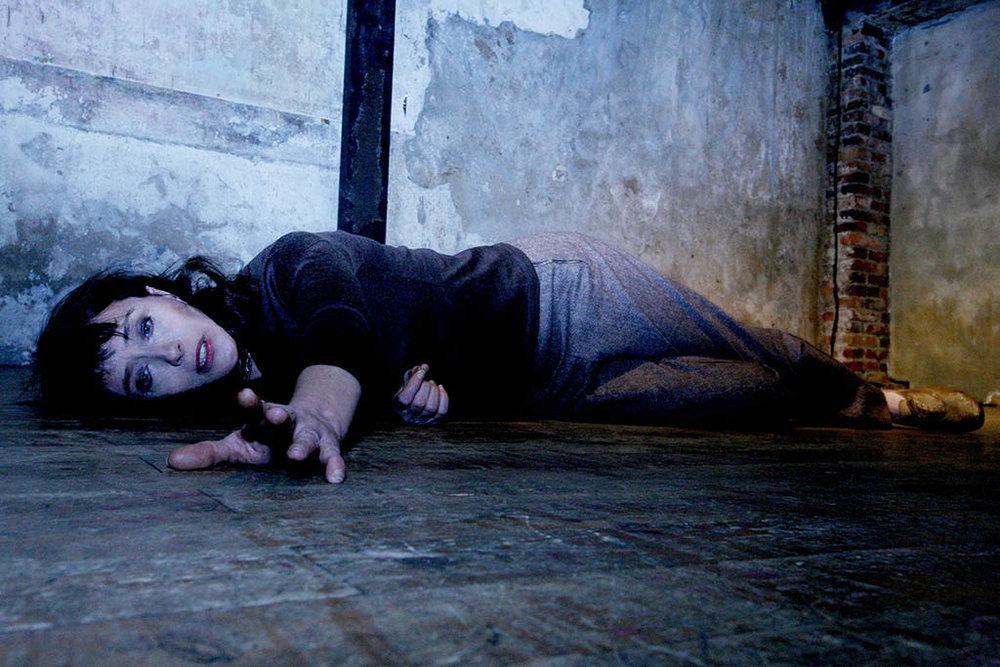 Anna Politkovskaïa: non rééducable, par Mireille Perrier, Théâtre St-Gervais, Genève. © Julie Durant / 2011