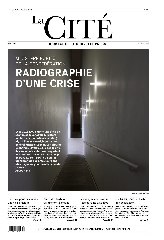 DÉCEMBRE 2016 - Édition n° 8024 pages