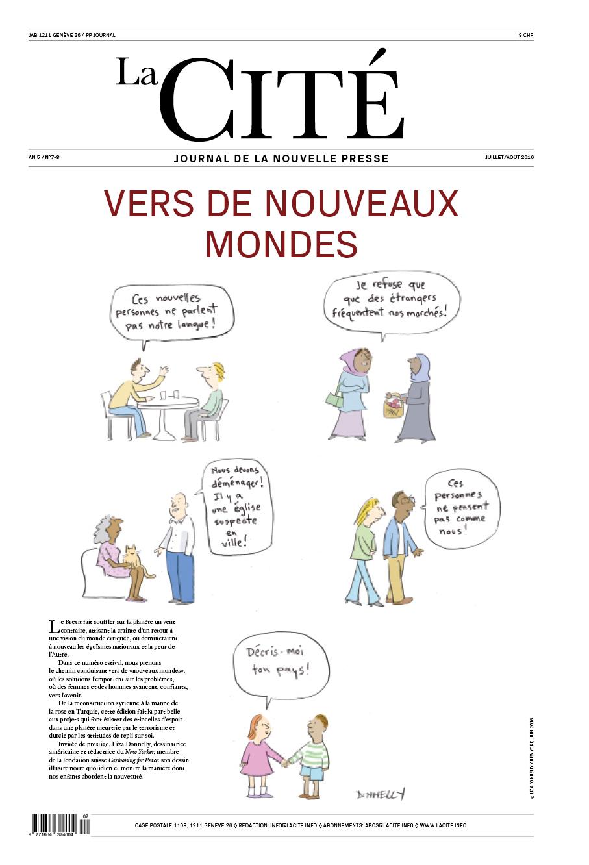 JUILLET-AOÛT 2016 - Édition n° 7524 pages