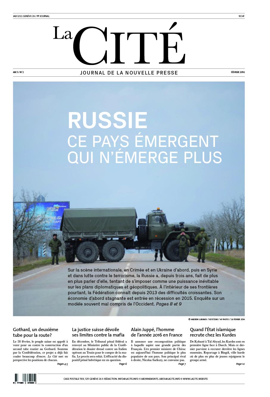 FÉVRIER 2016 - Édition n° 7124 pages