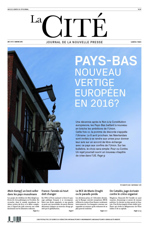 JANVIER 2016 - Édition n° 6924 pages