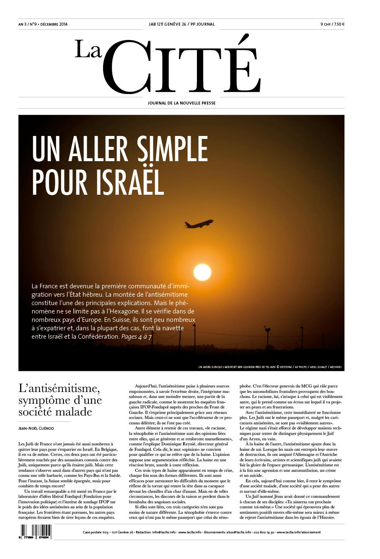 DÉCEMBRE 2014 - Édition n° 5924 pages