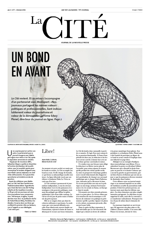 FÉVRIER 2014 - Édition n° 5132 pages