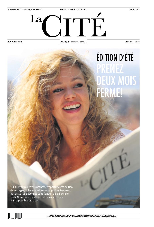 Été 2013 - Édition n° 4640 pages