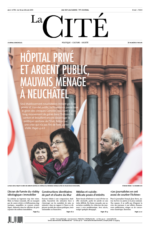 14 juin 2013 - Édition n° 4424 pages