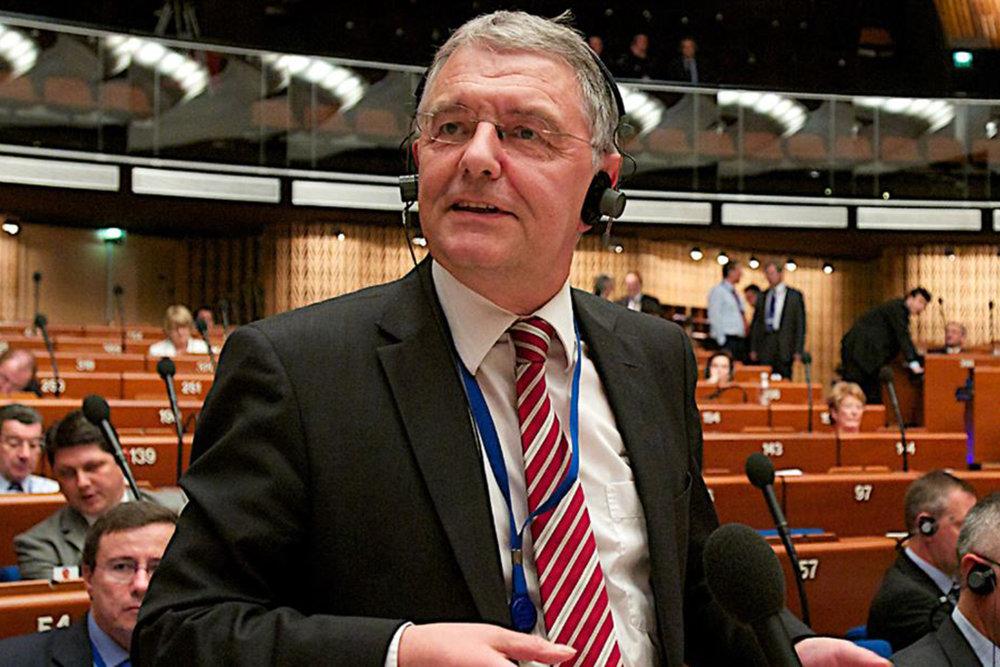 Christoph Strasser, auteur du rapport sur les prisonniers politiques en Azerbaïdjan. © Conseil de l'Europe / Juin 2013