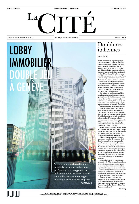22 février 2013 - Édition n° 3724 pages