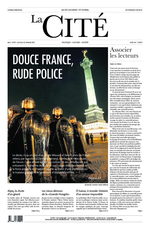 8 février 2013 - Édition n° 3624 pages