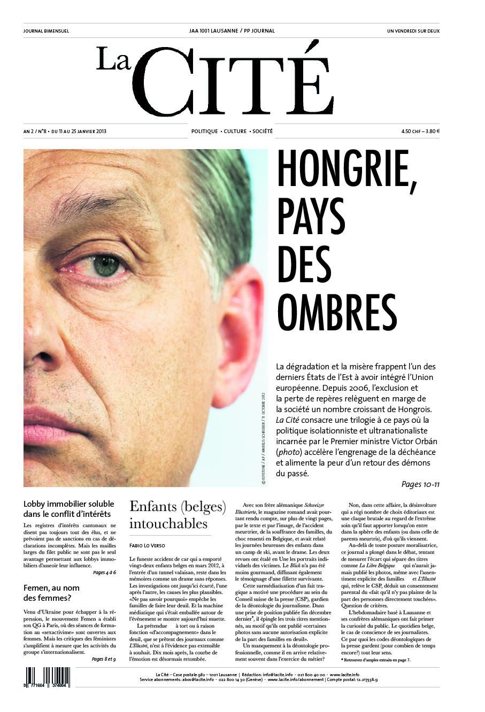 11 janvier 2013 - Édition n° 3424 pages