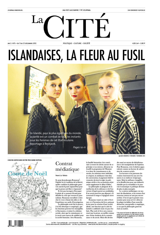 7 décembre 2012 - Édition n° 3024 pages