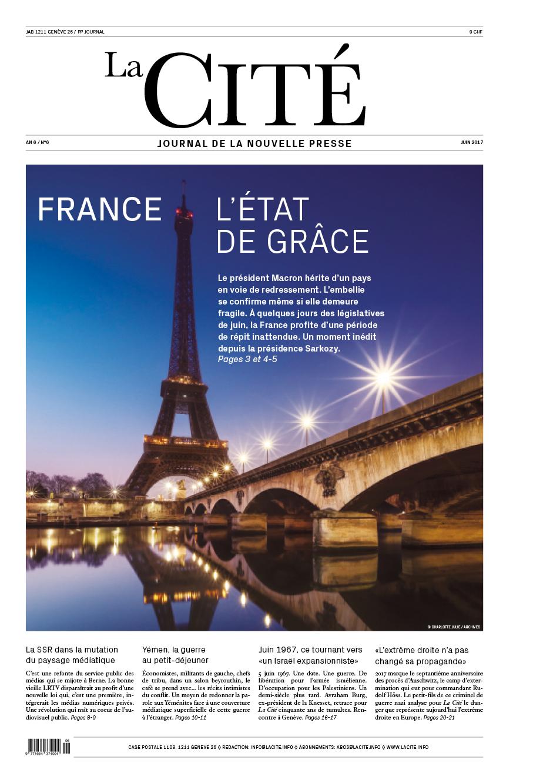 JUIN 2017 - Édition n° 8524 pages