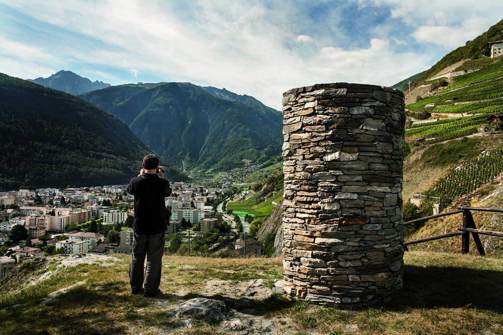 À Martigny, un clan calabrais avait posé au début des années 90 le premier jalon de ses trafics mafieux en Suisse. © Alberto Campi / Septembre 2011