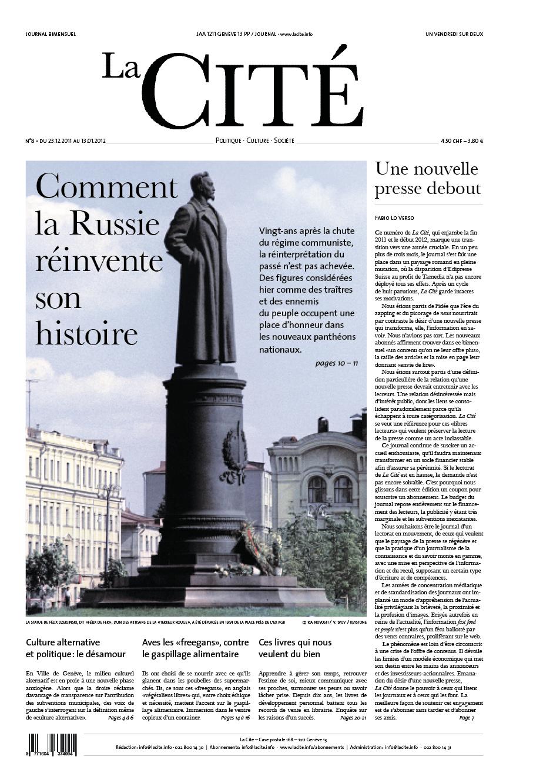 23 décembre 2011 - Édition n° 824 pages