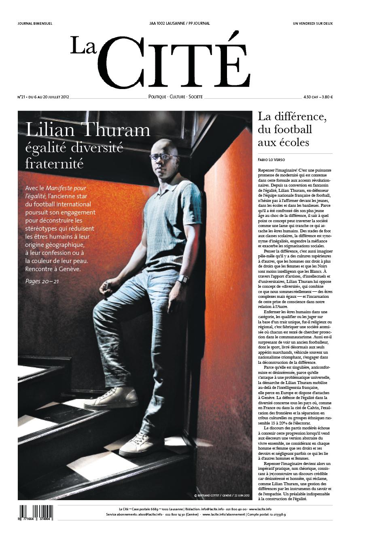 6 juillet 2012 - Édition n° 2132 pages
