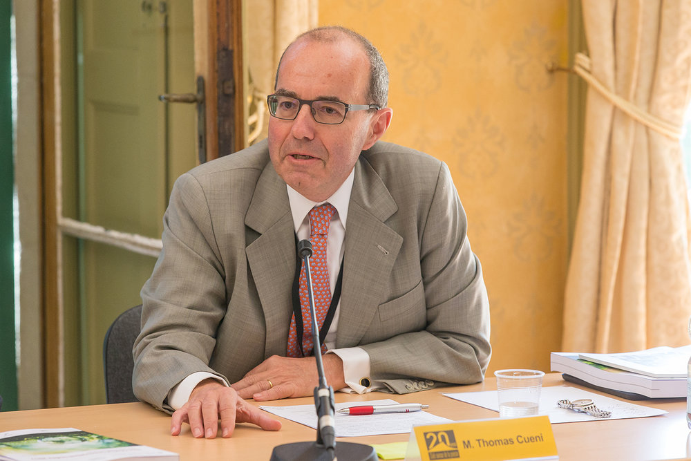 Thomas Cueni, directeur général de la Fédération internationale des fabricants de l'industrie pharmaceutique (IFPMA). ©  Emmanuel Berrod / WIPO Media Library / Genève, 6 juillet 2017