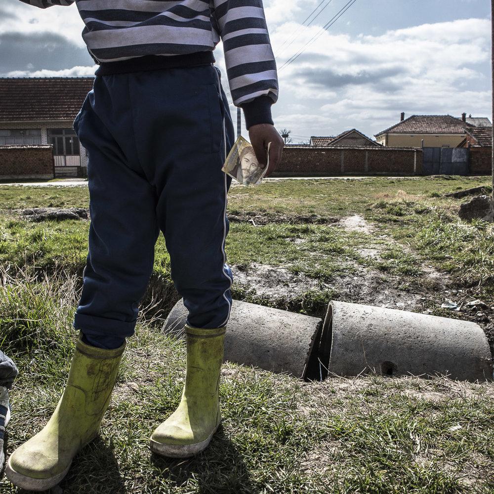 Selon le World Factbook de la CIA, le Kosovo est le deuxième pays le plus pauvre d'Europe, après la Moldavie. © Alberto Campi / Archives