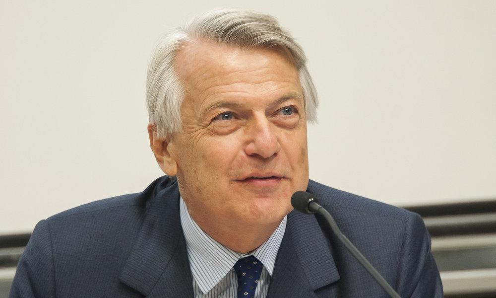 Ferruccio de Bortoli vu par © Giancarlo Fortunato / Genève, 31 octobre 2017