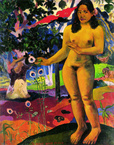 «Terre délicieuse», Paul Gauguin, 1894-1895. © Courtesy Grand-Palais, Paris.