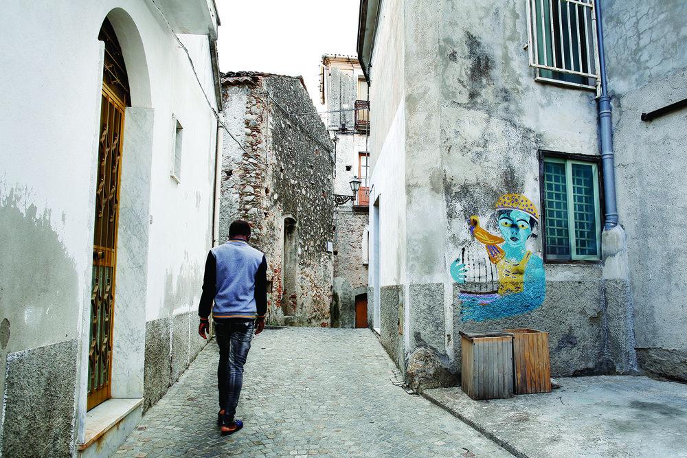 La solitude est le lot quotidien de nombreux migrants. © Magali Girardin / Septembre 2017