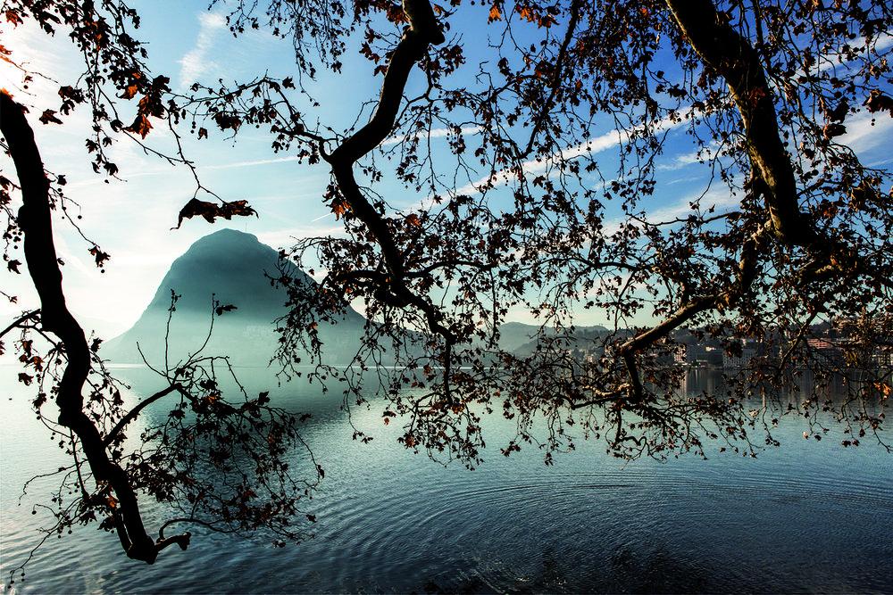 Depuis plusieurs années, le paisible canton du Tessin est la porte d'entrée des mafias italiennes en suisse. © Alberto Campi / Décembre 2015