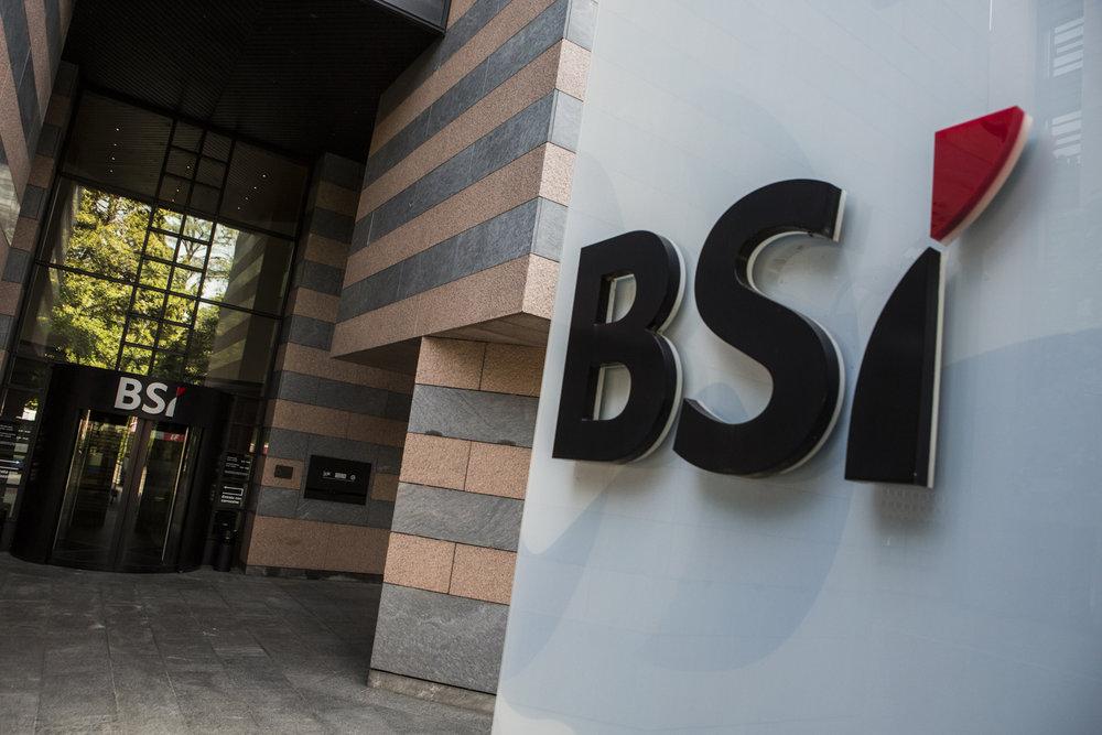 Le siège de la BSI à Lugano. © Alberto Campi / Archives