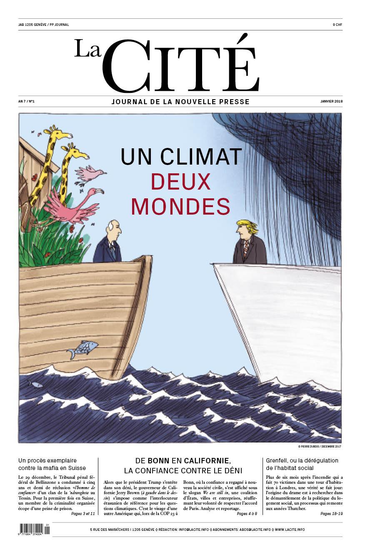 JANVIER 2018 - Édition n° 9124 pages