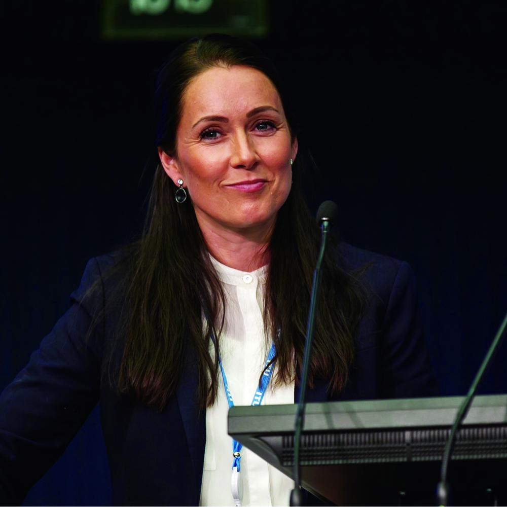 Anya Kaspersen. © Courtesy ITU / 2017